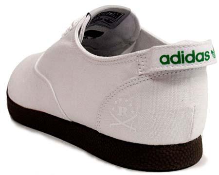 adidas RANSOM CURB FDT [WHITE/GUM] V23015 写真1