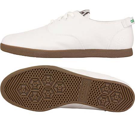 adidas RANSOM CURB FDT [WHITE/GUM] V23015 写真2