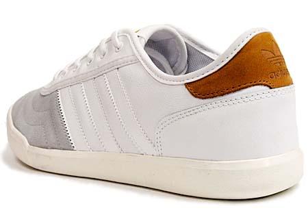 adidas TISCHTENNIS [WHITE/BROWN] V24322 写真1