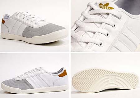 adidas TISCHTENNIS [WHITE/BROWN] V24322 写真2