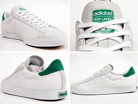 adidas ROD LAVER VINTAGE [WHITE/GREEN] V32290 写真1
