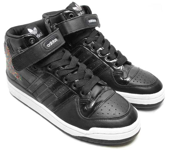adidas FORUM MID RS XL [BLACK] g50822 写真1