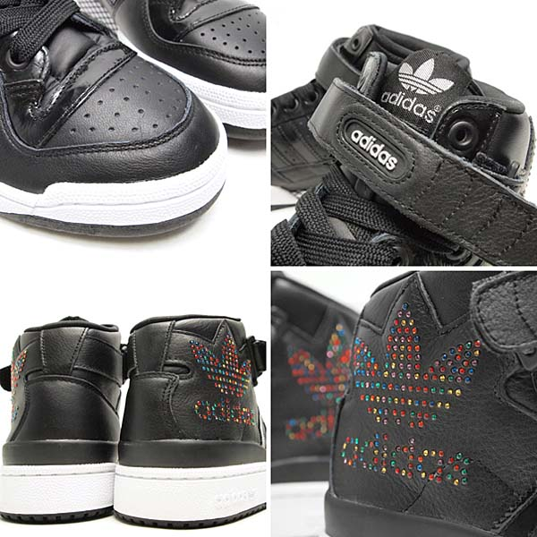 adidas FORUM MID RS XL [BLACK] g50822 写真2