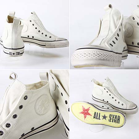 CONVERSE x JOHN VARVATOS CT Mid Slip TURTLEDOVE [WHITE] 129642 写真1