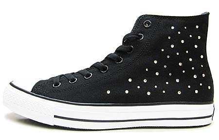 CONVERSE ALL STAR SWV HI [SWAROVSKI ELEMENTS/BLACK] 32067391