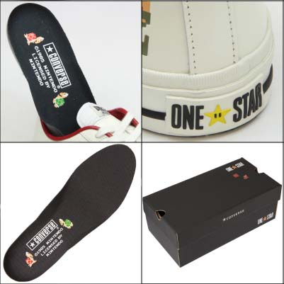 CONVERSE ONE STAR SUPER MARIO BROS. OX [WHITE] 32340210 写真1