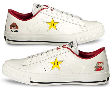 CONVERSE ONE STAR SUPER MARIO BROS. OX [WHITE] 32340210