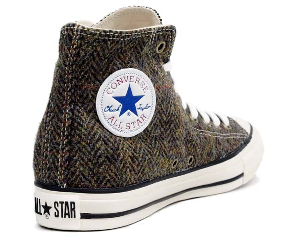 CONVERSE ALL STAR HARRIS-TWEED HI [BROWN] 32661539 写真1