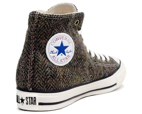 CONVERSE ALL STAR HARRIS-TWEED HI [BROWN] 32661539 写真1