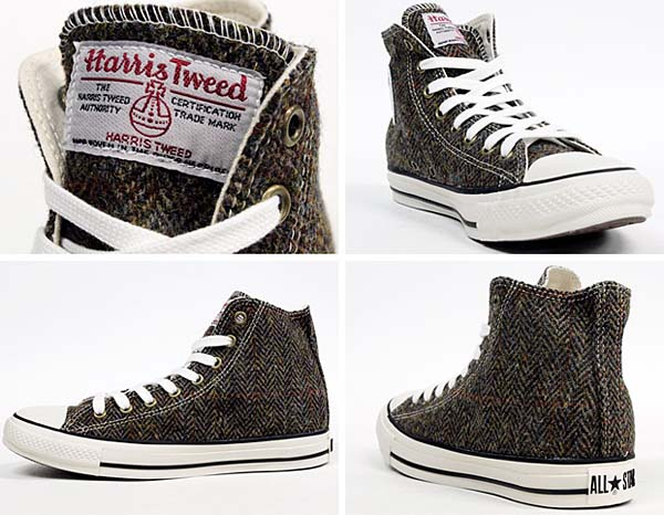 CONVERSE ALL STAR HARRIS-TWEED HI [BROWN] 32661539 写真2