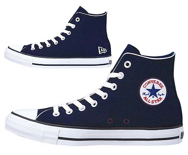 CONVERSE ALL STAR NEW ERA HI [NAVY] newera2012