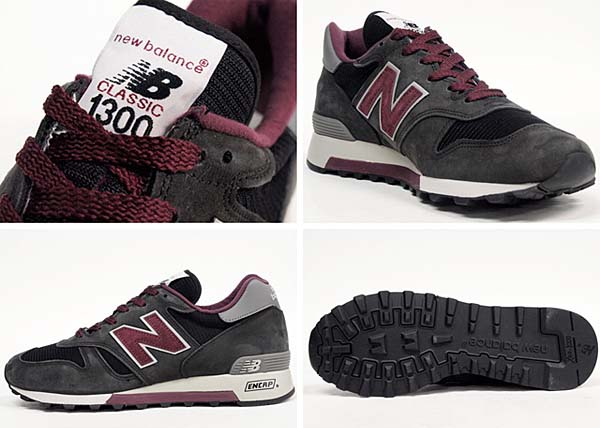 new balance M1300CL NB [CHARCOAL/BURGUNDY] M1300CL NB 写真1
