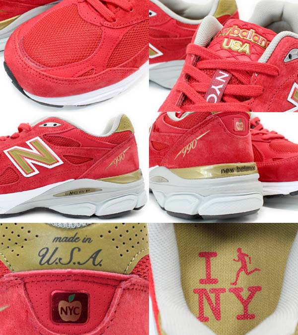 NEW BALANCE M990 NYC3 [NEW YORK CITY MARATHON] M990 NYC3 写真2