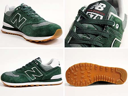 new balance ML574 WCR [GREEN/GRAY] ML574 WCR 写真1