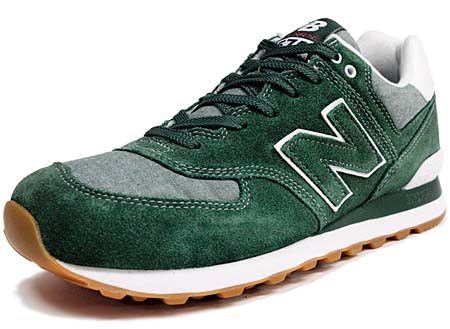 new balance ML574 WCR [GREEN/GRAY]