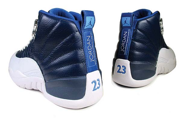 NIKE AIR JORDAN 12 RETRO [OBSIDIAN/WHITE/FRENCH BLUE/UNIVERSITY BLUE] 130690-410