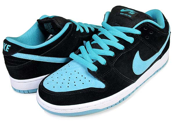 NIKE NIKE DUNK LOW PRO SB [BLACK/CLEAR JADE] 304292-030 画像