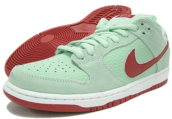 NIKE DUNK LOW PRO SB [MIDIUM MINT/GYM RED/WHITE] 304292-360
