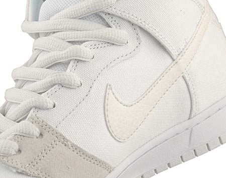 NIKE SB DUNK HIGH PRO [WHITE/METALLIC SUMMIT WHITE] 305050-110