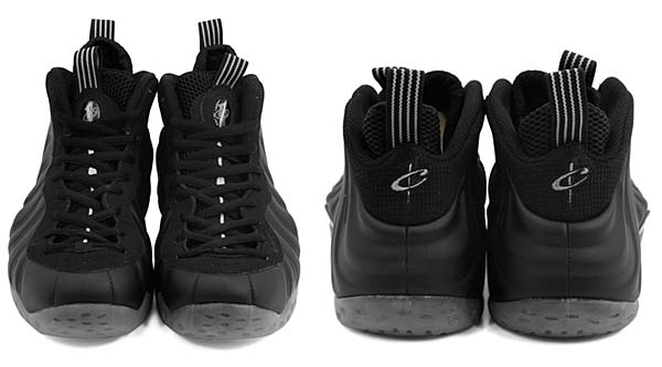 NIKE AIR FOAMPOSITE ONE [BLACK/BLACK-MEDIUM GREY] 314996-010
