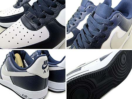 NIKE AIR FORCE 1 LOW '07 [OBSIDIAN/NTRL GREY-WHITE] 315122-417