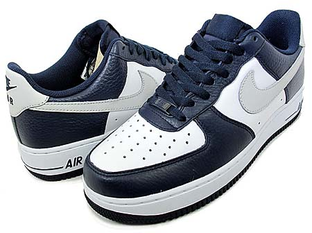 NIKE NIKE AIR FORCE 1 LOW '07 [OBSIDIAN/NTRL GREY-WHITE] 315122-417 画像