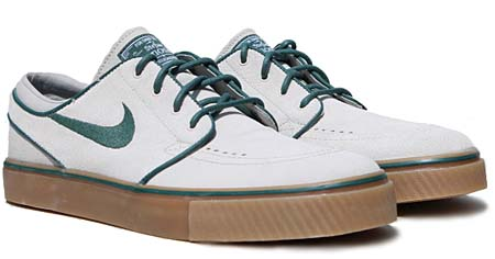 NIKE NIKE ZOOM STEFAN JANOSKI SB [BIRCH/NOBLE GREEN] 333824-230 画像