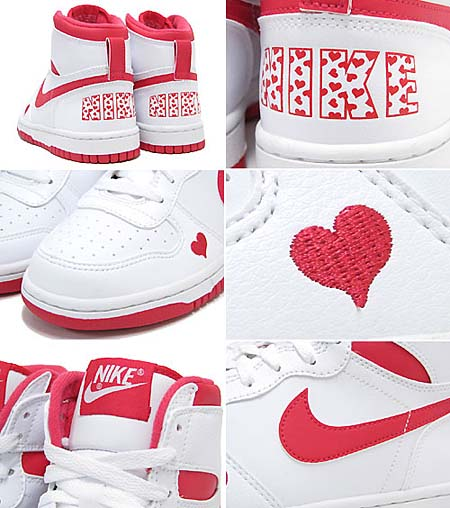 NIKE BIG NIKE HIGH LE GS [VALENTINE 2012] 344572-160