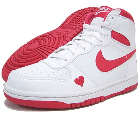 NIKE NIKE BIG NIKE HIGH LE GS [VALENTINE 2012] 344572-160 画像
