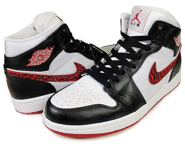 NIKE NIKE AIR JORDAN 1 PHAT [WHITE/VARSITY RED-BLACK] 364770-110 画像