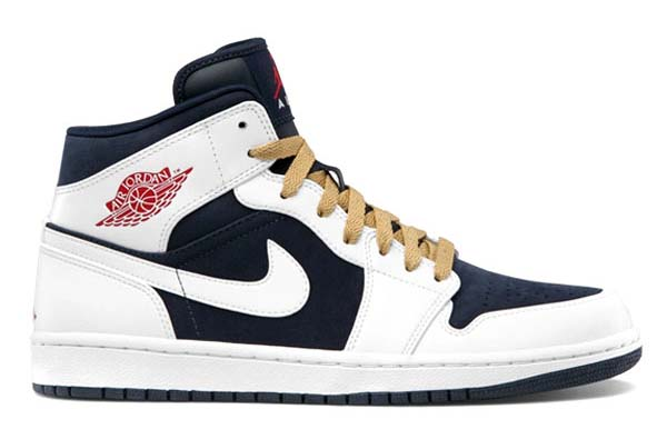 NIKE AIR JORDAN 1 PHAT [OBSIDIAN/GYM RED-WHITE] 364770-400