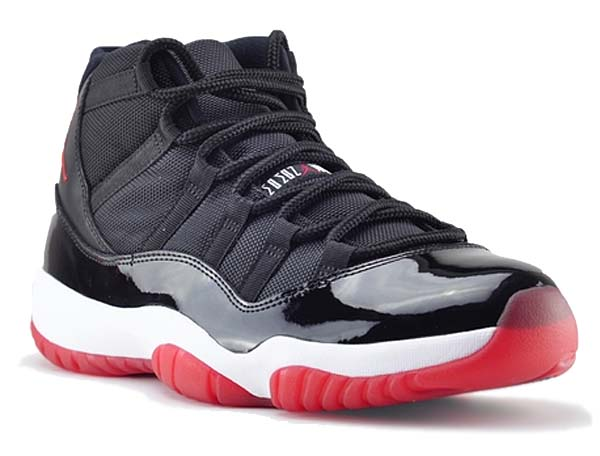 NIKE AIR JORDAN 11 RETRO [BLACK/VARSITY RED-WHITE] 378037-010