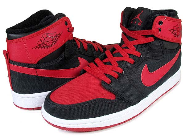 NIKE NIKE AIR JORDAN 1 RETRO KO HI [BLACK/VARSITY RED-WHITE] 402297-001 画像