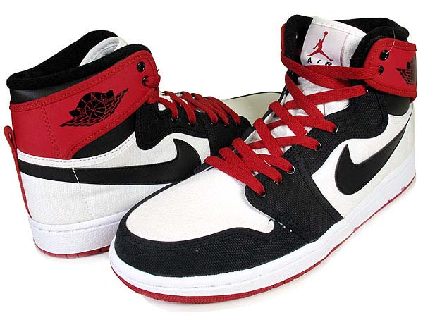 NIKE NIKE AIR JORDAN 1 RETRO KO HI [WHITE/BLACK-VARSITY RED] 402297-110 画像