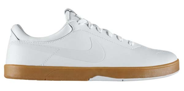 NIKE NIKE SB ZOOM ERICK KOSTON ONE [WHITE/SWAN-GUM LIGHT BROWN] 442476-119 画像