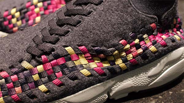 NIKE AIR FOOTSCAPE WOVEN CHUKKA [GRAY/PURPLE/PINK] 443686-077