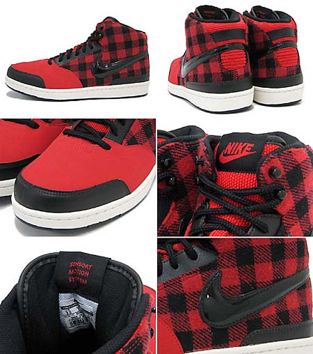 NIKE WMNS STYLE MID SL [RED/BLACK/SAIL] 454235-601