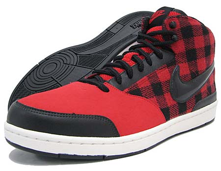 NIKE NIKE WMNS STYLE MID SL [RED/BLACK/SAIL] 454235-601 画像