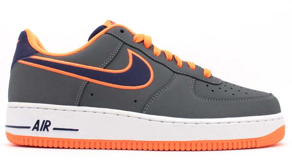 NIKE AIR FORCE 1 LOW [DARK GREY/ORANGE] 488298-012