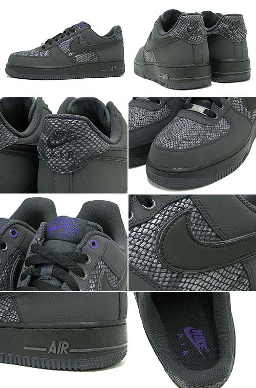 NIKE AIR FORCE 1 07 [ANTHRACITE/BLACK] 488298-028