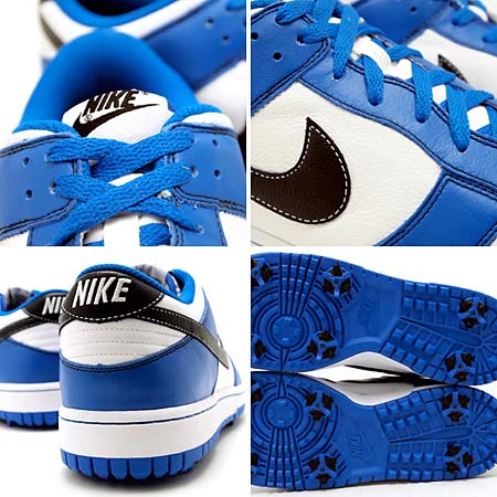 NIKE DUNK NG SL [WHITE/BLUE] 488345-102