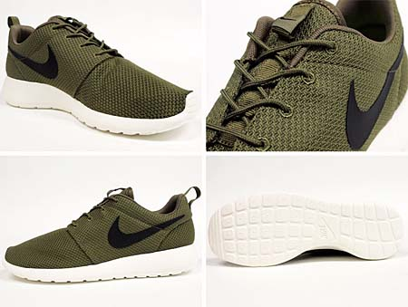 NIKE ROSHE RUN [IGUANA/BLACK-SAIL] 511881-201