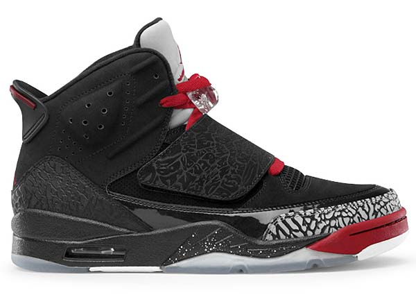 NIKE NIKE AIR JORDAN SON OF [BLACK/VARSITY RED-CEMENT GREY-WHITE] 512245-001 画像