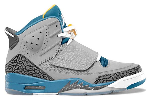 NIKE AIR JORDAN SON OF MARS [STEALTH/WHT-SHDD BLUE-UNIVERSITY GOLD] 512245-037