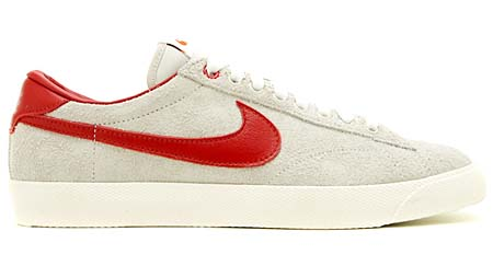 NIKE TENNIS CLASSIC AC [CLOT|LIGHT BONE/VARSITY RED-WHITE] 515011-001