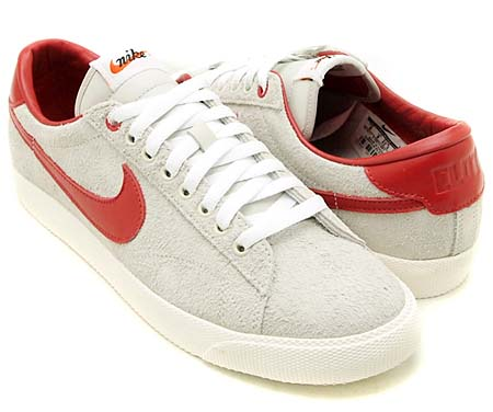 NIKE NIKE TENNIS CLASSIC AC [CLOT|LIGHT BONE/VARSITY RED-WHITE] 515011-001 画像