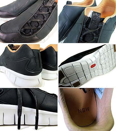 NIKE FOOTSCAPE FREE PRM NSW NRG [BLACK/BLACK-SUMMIT WHITE] 524154-001