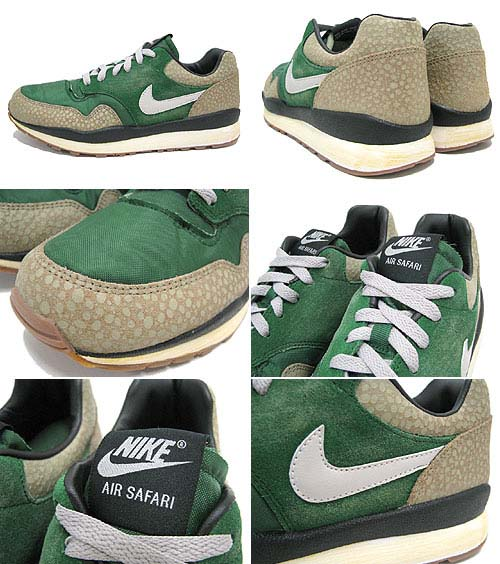 NIKE AIR SAFARI VINTAGE [GREEN/BAMBOO/BLACK] 525245-370