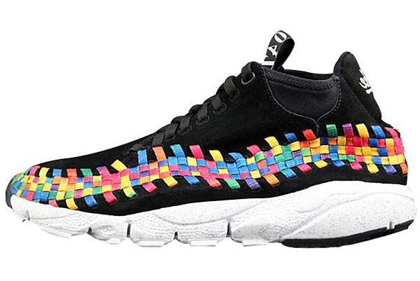 NIKE AIR FOOTSCAPE WOVEN CHUKKA RPM NRG [BLACK/BLACK-WHITE] 525250-001