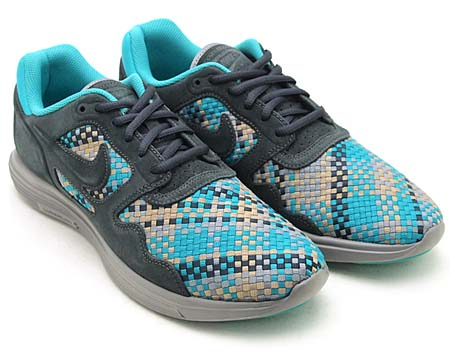 NIKE NIKE LUNAR FLOW WOVEN QS [ANTHRACITE/BLACK-BAMBOO] 526636-007 画像